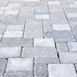 Stock Photo: Interlocking stone driveway