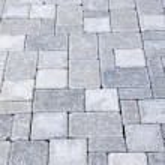 calçada de pedra de bloqueio — Foto Stock