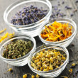 Dried medicinal herbs — Stock Photo #4466167