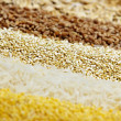 Royalty-Free Stock Photo: Various grains close up