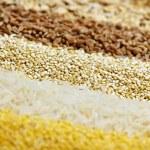 cerrar varios granos — Foto de Stock