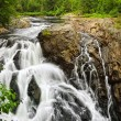 Waterfall in Northern Ontario, Canada — Stockfoto