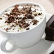 Hot chocolate — Stockfoto