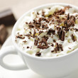 Stock Photo: hot chocolate&quot
