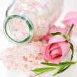 Bath salts - Stock Photo
