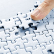 Puzzle pieces - Stockfoto