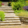 Natural stone landscaping — Stock Photo #4467589