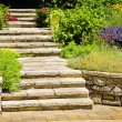 Stockfoto: Natural stone landscaping