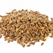 Brown flax seed — Stock Photo #4467908
