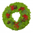 Christmas wreath — Stock fotografie