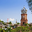 Church in Puerto Vallarta, Jalisco, Mexico - Stock Photo
