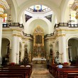 Church interior in Puerto Vallarta, Jalisco, Mexico - Stock Photo