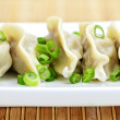 Royalty-Free Stock Photo: Plate of dumplings