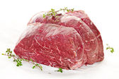 Raw beef roast — Stockfoto
