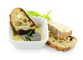 Pão de azeite e vinagre — Foto Stock