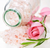 Bath salts — Stock Photo