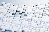 Missing puzzle piece — Stock Photo