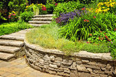 Piedra natural paisajismo — Foto de Stock
