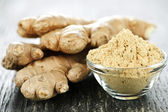 Ginger root — Stock Photo