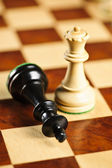Checkmate in chess — Stock Photo