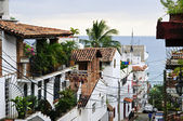 City street in Puerto Vallarta, Mexico — Stock Photo