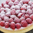 Raspberry tart — Stock Photo