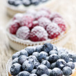 Fresh berry tarts — Stock Photo