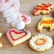 Decorating cookies — Stock Photo #4471644