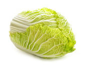 Isolated chinese cabbage — Zdjęcie stockowe