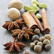 Assorted spices - Stock fotografie