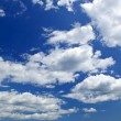 Blue sky with white clouds — Stock Photo #4482245