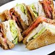 Stock Photo: Club sandwich