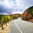 Fall highway — Foto de Stock