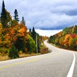 Royalty-Free Stock Photo: Fall highway
