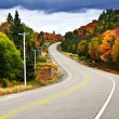 Stock Photo: Fall highway