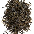 Wild black long grain rice — Stock Photo