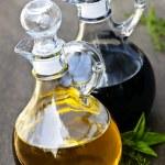 Oil and vinegar — Stock Photo