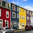 Colorful houses in St. John's — Stock Photo #4482396