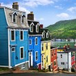 Colorful houses in St. John's — Stock Photo #4482398