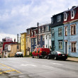 Colorful houses in St. John's — Stock Photo #4482404