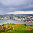 Cityscape of Saint John's from Signal Hill — Stock Photo #4482407