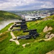Cannons on Signal Hill near St. John's — Stock Photo