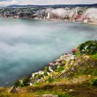 Cityscape of Saint John's from Signal Hill — Stock Photo #4482435