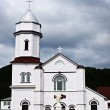 Sacred Heart Church in Placentia - Stock Photo