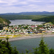 Stock Photo: Town of Placentiin Newfoundland