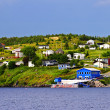Fishing village in Newfoundland - Stockfoto