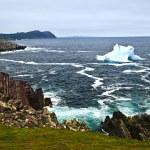 Тающий айсберг — Стоковое фото