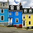 Colorful houses in St. John's — Stock Photo #4482771