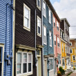 Colorful houses in St. John's — Stock Photo #4482782