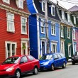 Colorful houses in St. John's — Stock Photo #4482789